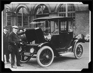 Edison Electric Car, 1913
