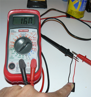 Reading from Analog Pressure Sensor