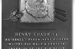 The Baseball Box Score was First Developed by Henry Chadwick