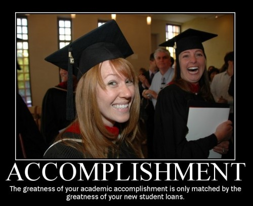 Accomplishment Demotivator