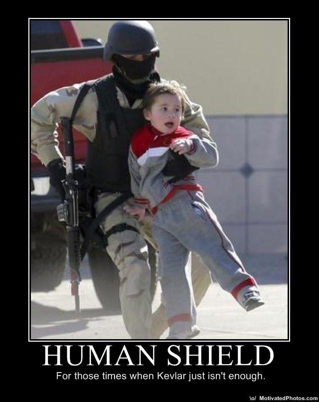 shield the human machine
