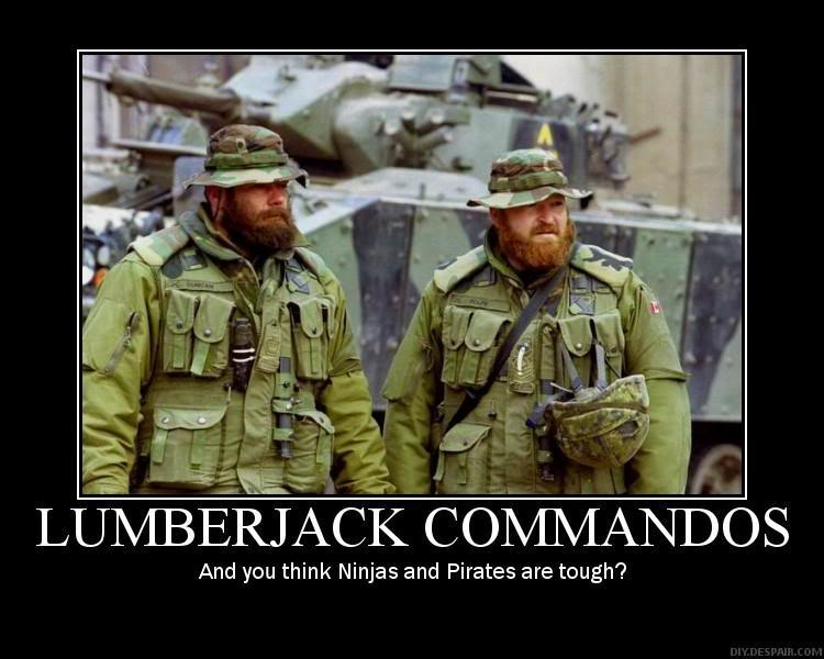 Lumberjack Commandos « Worldview