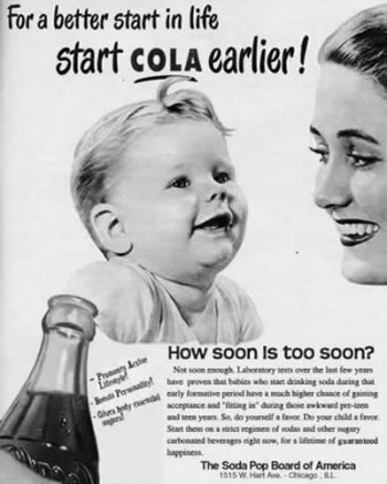 Funny Vintage Soda Ad