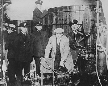 Detroit Police During Prohibition