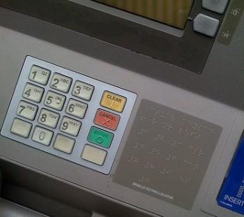 braille atm