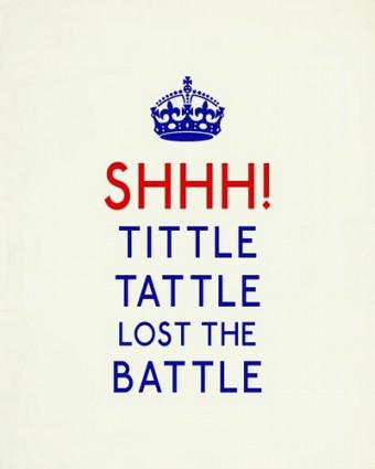 Tittle Tattle Lost in Battle