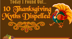 10 Thanksgiving Myths Dispelled