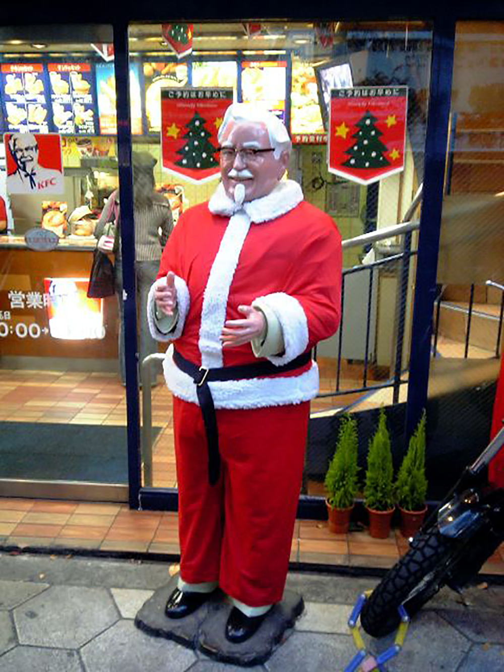 Eating Kentucky Fried Chicken is a Christmas Tradition for Many Japanese