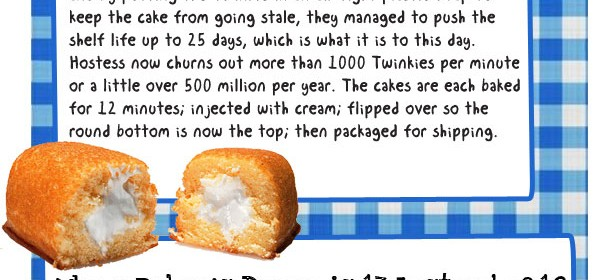 10 Fascinating Food Facts Infographic