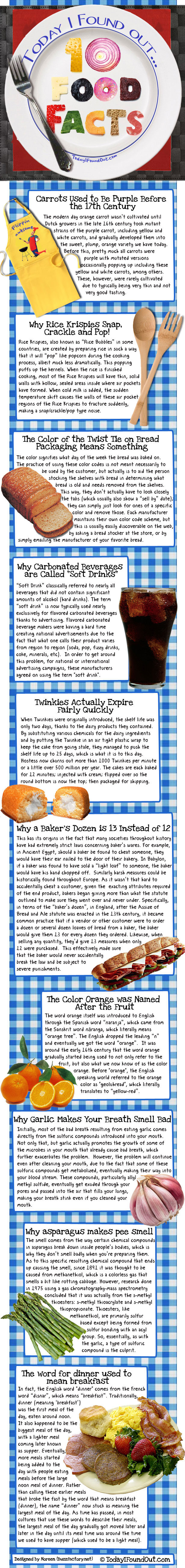 Food Facts2 Food FUN FACTS
