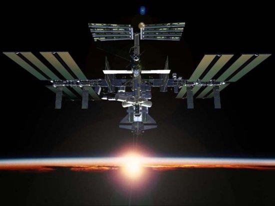 sunrise from international space station - photo #12
