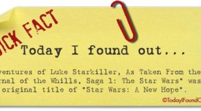 The Original Proposed Name of Star Wars: A New Hope
