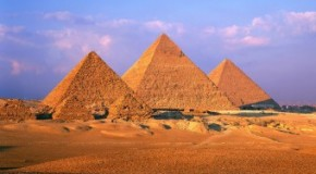 The Pyramids of Giza Were Originally White