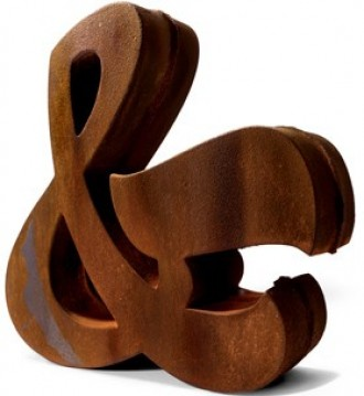 wood ampersand
