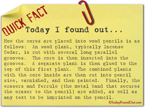 Kid Facts About Graphite