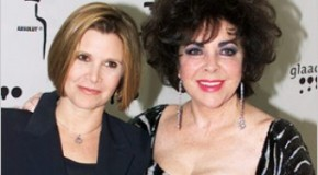 Elizabeth Taylor was at One Time Carrie Fisher&#8217;s Step-Mother