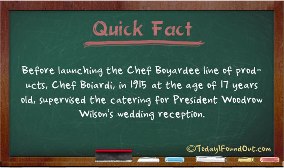 At The Age Of 17 Chef Boyardee Catered A Wedding Reception For
