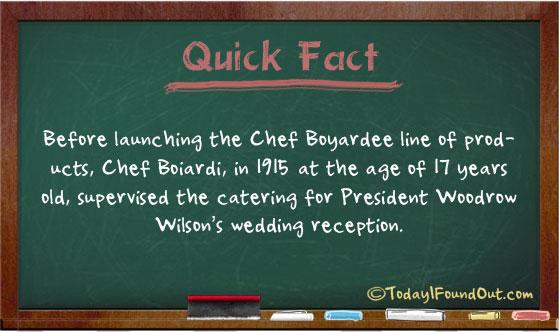 Chef Boyardee Catered a Wedding Reception for President Woodrow