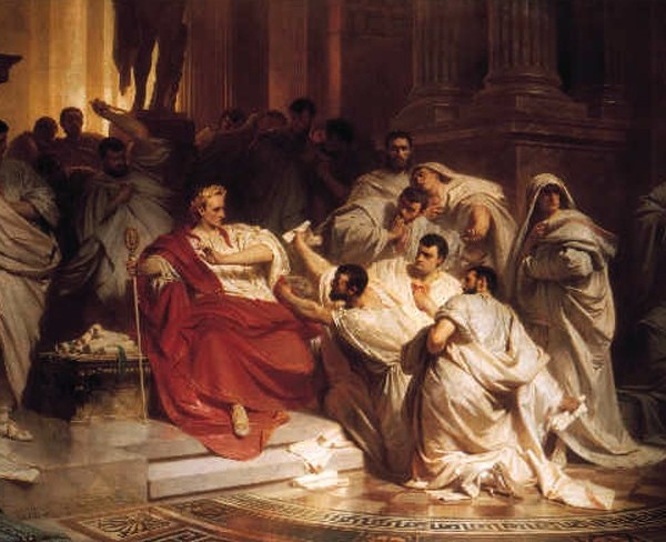 the assassination of julius caesar in the tragedy of julius caesar View full lesson: on march 15th, 44 bce, roman dictator julius caesar was assassinated by a group of about 60 of his own senators why did these self-titled liberators want him dead and why did brutus, whose own life had been saved by caesar, join in the plot.