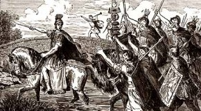 January 10th: Julius Caesar Makes His Historic, Illegal Crossing of the Rubicon at the Head of a Legion of Soldiers, Starting a Civil War Within Rome