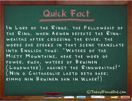 What Arwen is Saying (...