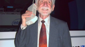 This Day in History: Martin Cooper Publicly Demonstrates the World's First Handheld Mobile Phone