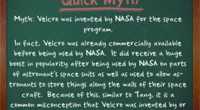Velcro was Not Invented by NASA for the Space Program