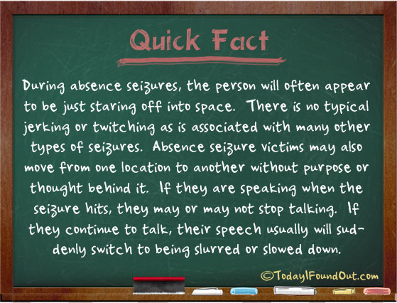 absence seizure facts