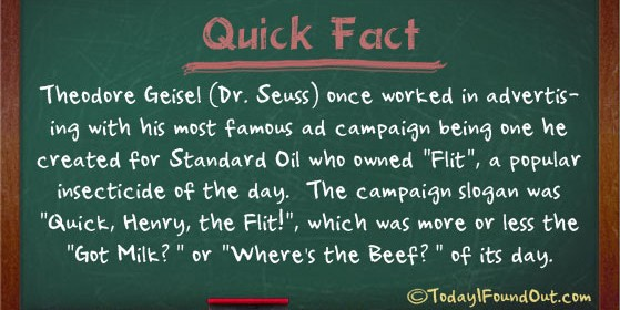 Dr. Seuss Facts