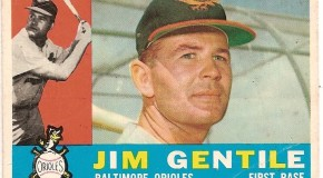 Jim Gentile Becomes the First Major League Baseball Player to Hit a Grand Slam in Back to Back Innings