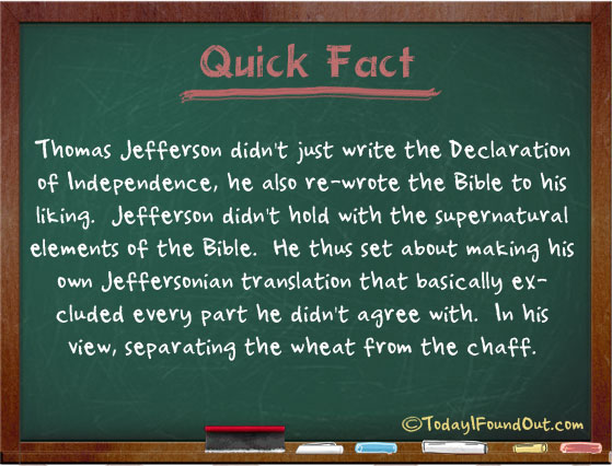 Thomas Jefferson Facts