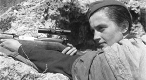 During WWII, Lyudmila Pavlichenko Sniped a Confirmed 309 Axis Soldiers, Including 36 German Snipers
