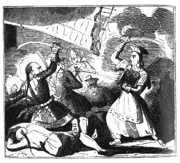 prostitute dress in 1800