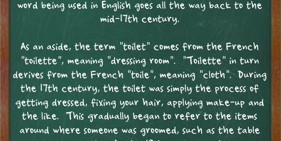 etymology of latrine