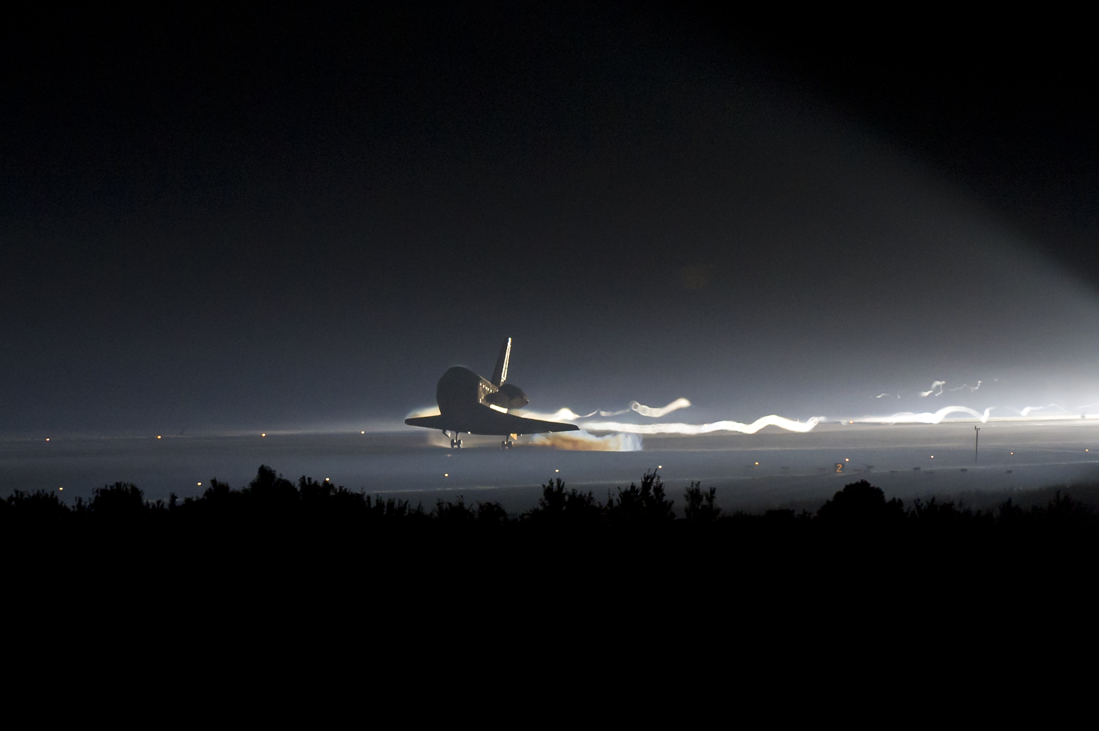 space shuttle landing from inside - photo #26