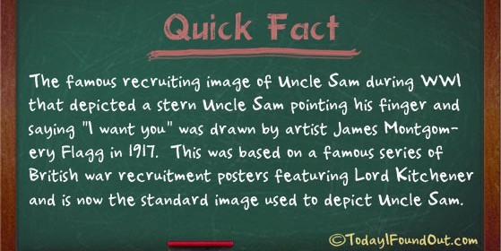 uncle sam facts
