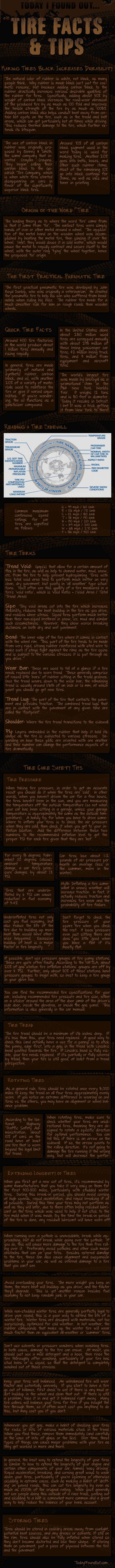 Tire Facts and Tire Safety Tips