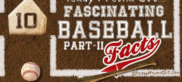 Fascinating Baseball Facts Infographic Thumbnail 2