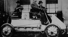 The First Gas/Electric Hybrid Vehicle was Invented in 1900