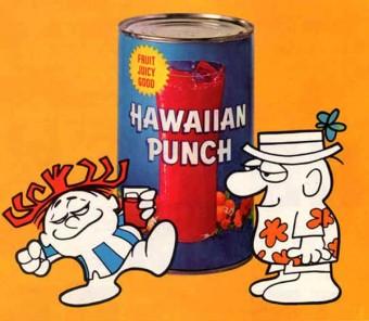 hawaiian punch was originally an ice cream topping