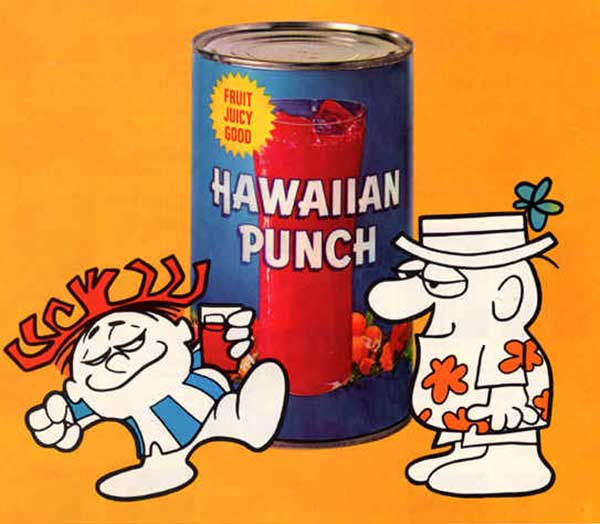 hawaiian punch was originally an ice cream topping