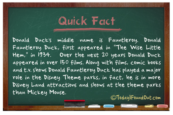 donald duck u0026 39 s middle name
