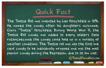 TIFO Quick Fact - Tootsie Roll Fact