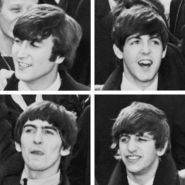 The First Time John Lennon  Paul McCartney  George Harrison  and Ringo    Young John Lennon And Paul Mccartney