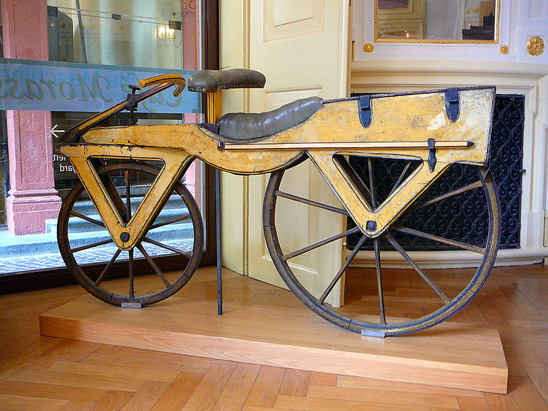 The Origin of the Bicycle