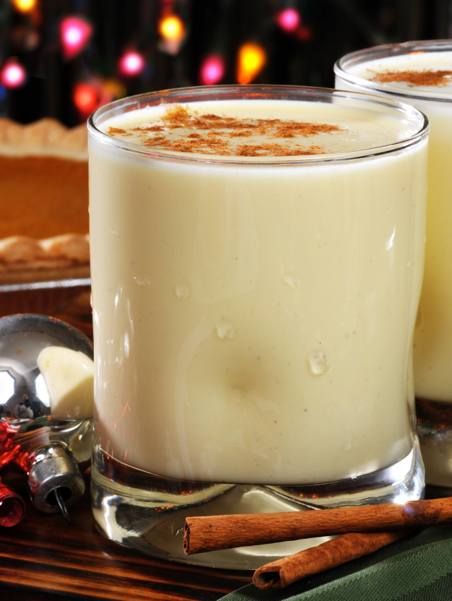 What Is Eggnog Made Of?
