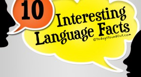 10 Interesting Language Facts