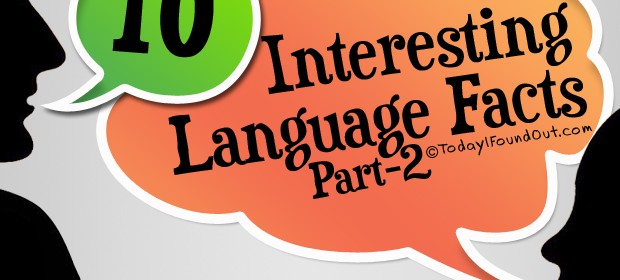 10 Interesting Language Facts Part-2 Thumbnail