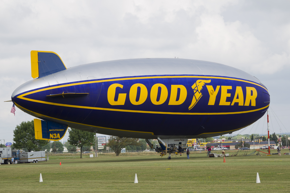 The History of the Goodyear Blimp Goodyear