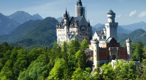 Cinderella's Castle was Modeled After Bavaria's Neuschwanstein Castle